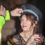 singing police Woman ..LOL