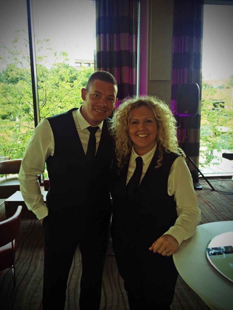 claire waitress  & paul waiter